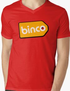 Binco Tag Mens V-Neck T-Shirt