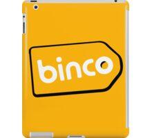 Binco Tag iPad Case/Skin