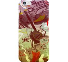 HERE WE ARE iPhone Case/Skin