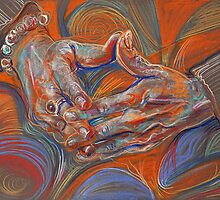 Folded Hands by Fred Hatt