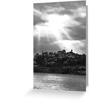 Between Sky & Water Greeting Card