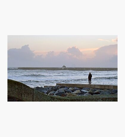 A Watcher Of Stormy Seas Photographic Print