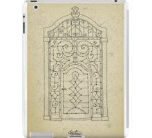 Italian oldstyle vintage door iPad Case/Skin