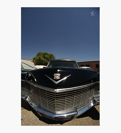 Classic Caddy Hearse Photographic Print