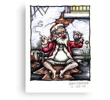 Ho, Ho, Homeless... Canvas Print