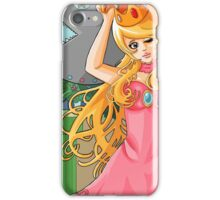 Art Nouveau Peach iPhone Case/Skin
