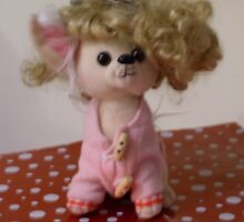 Out Of Focus Soft Toy With Wig by sLIB