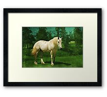 Earthbound Unicorn Framed Print