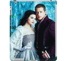 Snow and Charming Comic Poster Logoless Design iPad Case/Skin