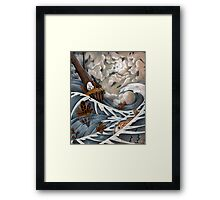 King of the Isle Framed Print