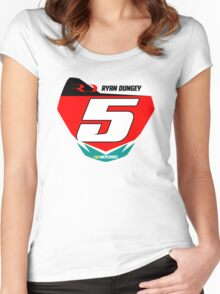 RD 5 Women's Fitted Scoop T-Shirt