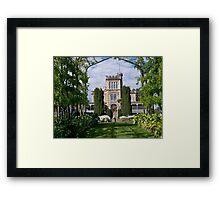 Lanarch Castle, Otago Peninsula, Dunedin, NZ. Framed Print