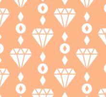 Peach Diamond Jewels Sticker