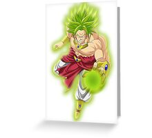 Broly Greeting Card