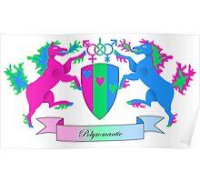 Polyromantic Crest Poster