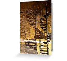 Night shadow Greeting Card