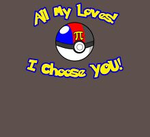 Parody: I Choose All My Loves! (Polyamory Alternate) Womens Fitted T-Shirt