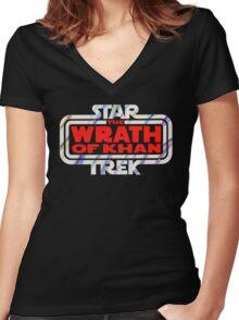 Star Trek Empire Strikes Back Women's Fitted V-Neck T-Shirt