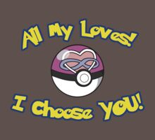 Parody: I Choose All My Loves! (Polyamory) by Delia Gonzales