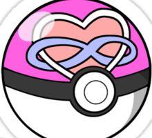 Parody: I Choose All My Loves! (Polyamory) Sticker