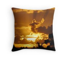 Sunrise at Avoca Beach Throw Pillow