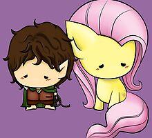 Frodo & Fluttershy by nipponolife