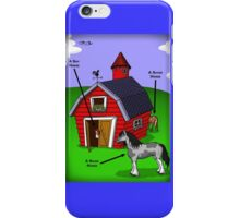 Shyer/Shire Horse iPhone Case/Skin
