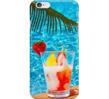 Tutti frutti ice cream by the pool in Mombasa, Kenya iPhone Case/Skin