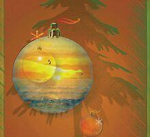 Summer Sunset  Christmas by Ellanita