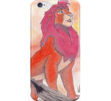 Simba - Pride Rock iPhone Case/Skin