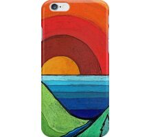 Rainbow Sunset iPhone Case/Skin