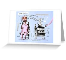 thought provoker Greeting Card