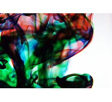 Swirling x RGB Photographic Print