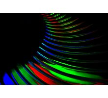 Neon Vibrations Photographic Print