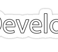 iDevelop Apple Programmer  Sticker