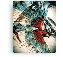 Eye Of The Bird Canvas Print