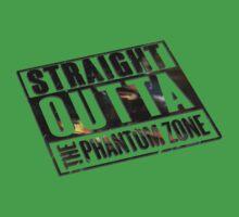 Straight Outta The Phantom Zone - Alt Kids Tee