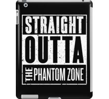Straight Outta The Phantom Zone iPad Case/Skin