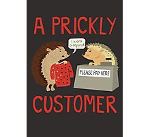 A Prickly Customer Photographic Print