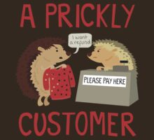 A Prickly Customer by jaffajam