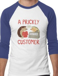 A Prickly Customer Men's Baseball ¾ T-Shirt