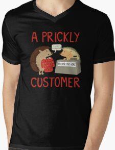 A Prickly Customer Mens V-Neck T-Shirt