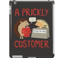 A Prickly Customer iPad Case/Skin