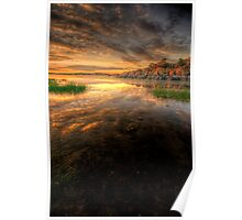 Sunset Calm 2 Poster