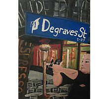 Degraves St Photographic Print