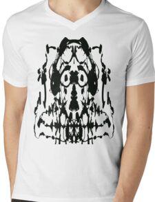 Soundwaves Mens V-Neck T-Shirt