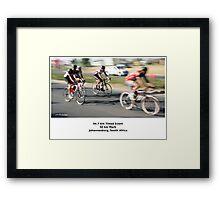 The 94.7 Race - Intermediate Group. Framed Print