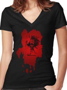 Zuni Doll Women's Fitted V-Neck T-Shirt