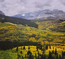 Fall at Glacier National Park by StonePics