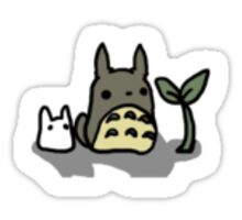 Tiny Totoro Sticker